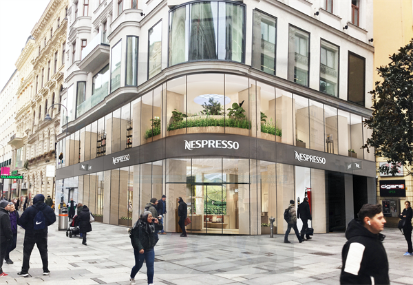 Nespresso Flagship Boutique (Visualisierung)